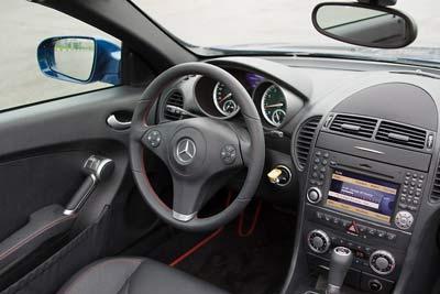 Mercedes-Benz SLK 350. Фото Кирилла Лебедева с  сайта gazeta.ru.