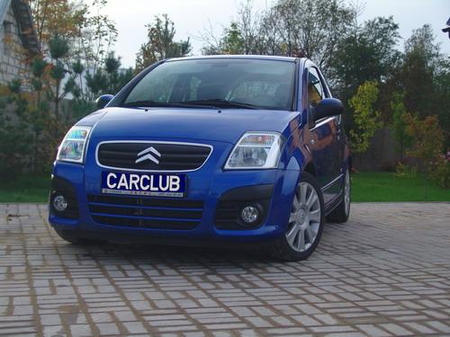 Citroen C2 VTS. Фото с сайта carclub.ru.