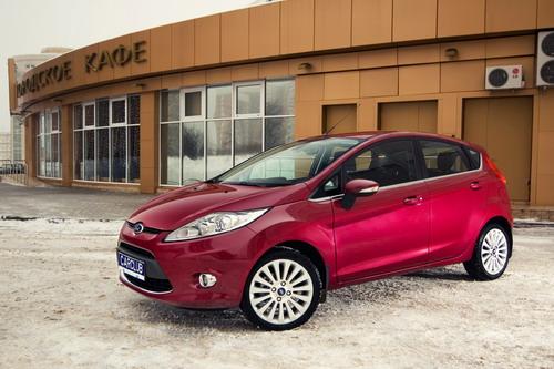 Ford Fiesta. Фото с сайта carclub.ru