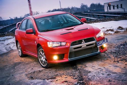 Mitsubishi Lancer Evolution. Фото carclub.ru