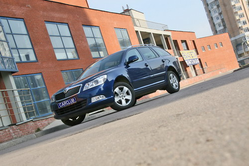 Skoda Octavia. Фото с сайта carclub.ru