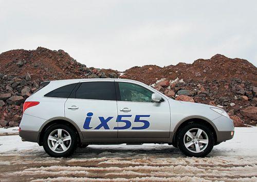 Hyundai ix55. Фото Игоря Кузнецова, 5 колесо