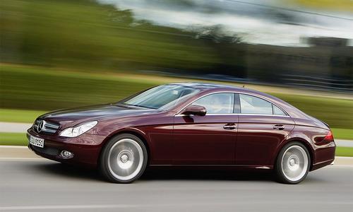 Mercedes-Benz CLS class. Фото с сайта autonews.ru.