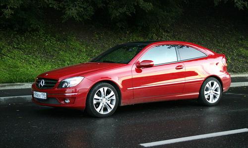 Mercedes-Benz CLC-class. Фото с сайта autonews.ru.