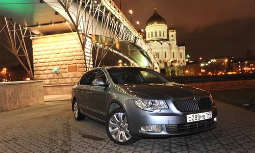 Skoda Superb. Фото с сайта autonews.ru.