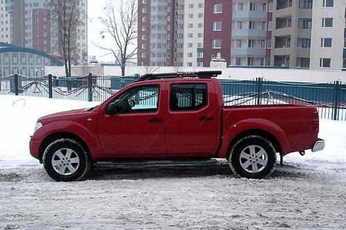Nissan Navara. Фото с сайта autonews.ru.