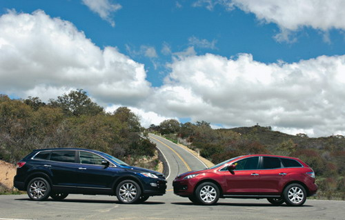 Mazda CX-9. Фото Евгении Любимовой и Mazda Motor.