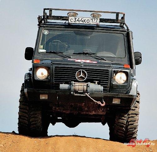 Mercedes-Benz Gelandewagen. Фото Александра Страхова-Баранова с сайта media.club4x4.ru.