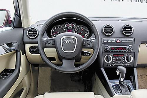 Audi A3 Sportback. Фото с сайта WhatCar.ru.