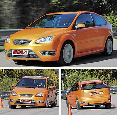 Ford Focus ST. Фото с сайта whatcar.ru.