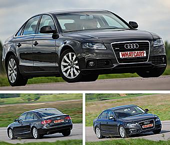 Audi A4. Фото с сайта whatcar.ru.