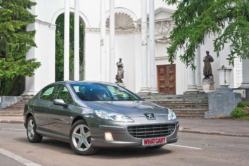 Peugeot 407. Фото Яна Сегала с сайта whatcar.ru