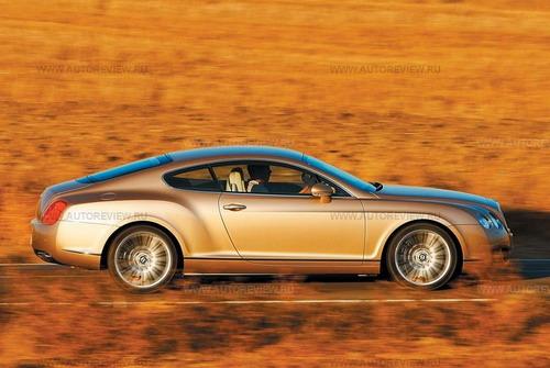 Bentley Continental GT Speed. Фото Bentley с сайта autoreview.ru.