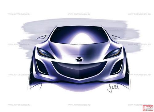 Над обликом новой «трешки» работали американские, европейские и японские дизайнеры Мазды. Изображение Mazda с сайта autoreview.ru
