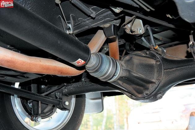 Новые «карданные» валы со ШРУСами и крышки раздаточной коробки с двухрядными подшипниками взаимозаменяемы со старыми