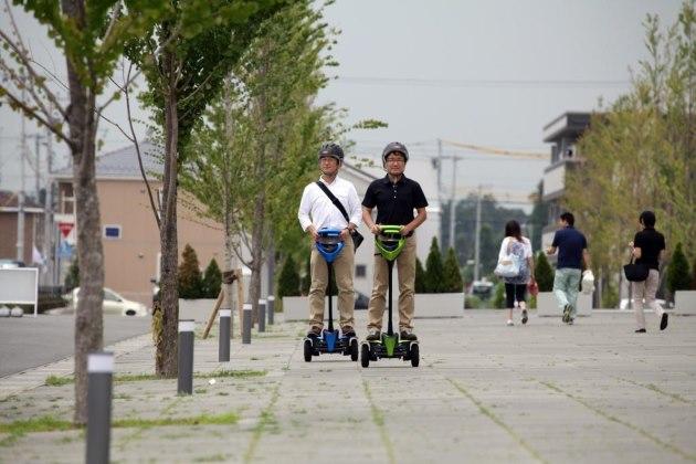 Компактный робот Winglet приспособлен для передвижения по улицам.