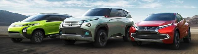 Mitsubishi Concept AR, Concept GC-PHEV и Concept XR-PHEV