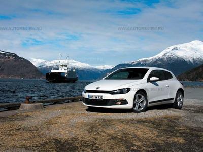 Volkswagen Scirocco. Фото Volkswagen с сайта autoreview.ru