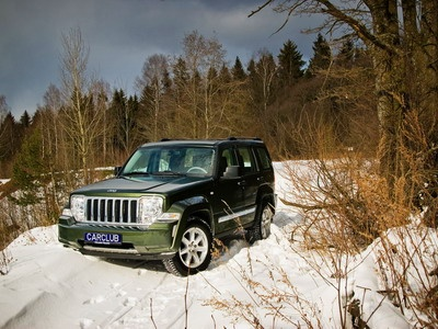 Jeep Cherokee. Фото carclub.ru