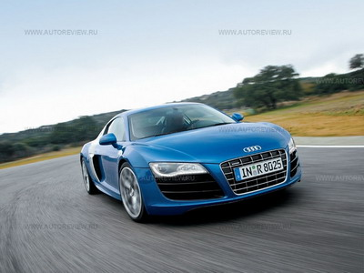 Audi R8 V10. Фото Audi с сайта autoreview.ru