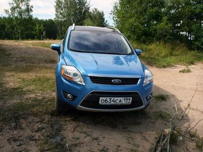 Ford Kuga. Фото carclub.ru