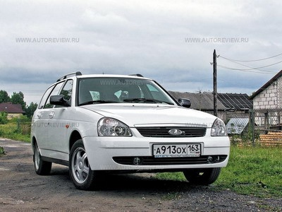 Lada Priora. Фото Павла Карина с сайта autoreview.ru
