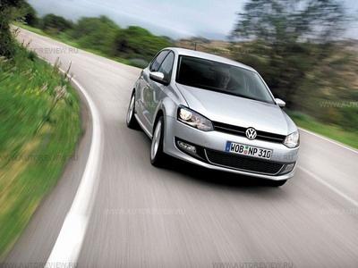 Volkswagen Polo. Фото Volkswagen с сайта autoreview.ru