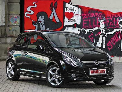 Opel Corsa GSi. Фото с сайта whatcar.ru.