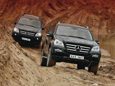 Mercedes-Benz GL класс. Фото Александра Страхова-Баранова
