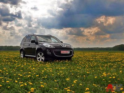Peugeot 407. Фото Василия Заключаева с сайта AutoWeek.ru