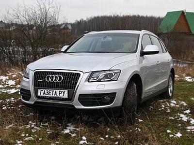 Audi Q5. Фото Кирилла Лебедева с сайта gazeta.ru.