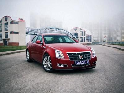 Cadillac CTS. Фото с сайта carclub.ru.
