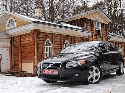 Volvo S80 T6. Фото Дарьи Сорокиной с сайта autoweek.ru.