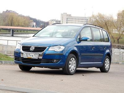 Volkswagen Touran. Фото Lenta.ru