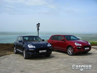 Porsche Cayenne GTS. Фото с сайта CarClub.ru