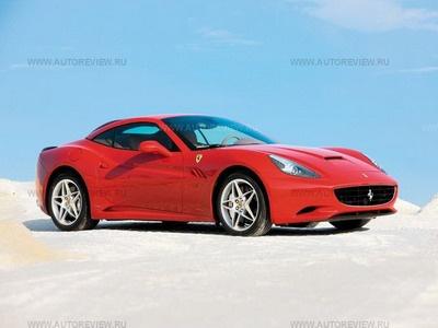 Ferrari California. Фото Павла Карина и Ferrari с сайта autoreview.ru.