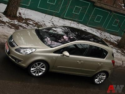 Opel Corsa. Фото Петра Надеждина с сайта AutoWeek.ru