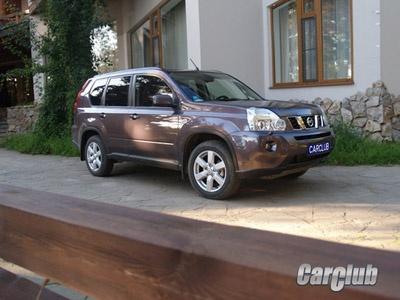 Nissan X-Trail. Фото с сайта CarClub.ru