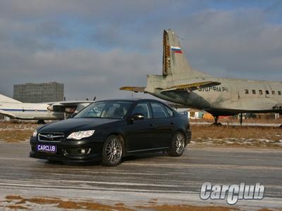 Subaru Legacy STI. Фото с сайта CarClub.ru
