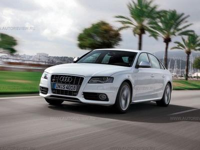 Audi S4. Фото Леонида Голованова и Audi с сайта autoreview.ru.