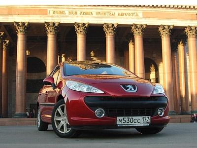Peugeot 207. Фото Ленты.ру