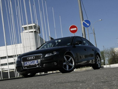 Audi A4. Фото с сайта carclub.ru.