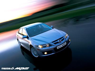 Mazda 6 MPS. Фото Mazda