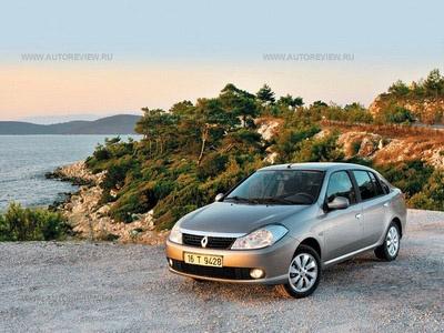Renault Symbol. Фото Влада Клепача с сайта autoreview.ru.