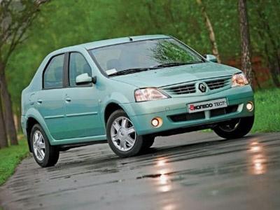 Renault Logan. Фото 5 колесо