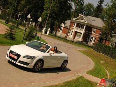 Audi TT Roadster. Фото с сайта AutoWeek.ru