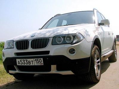 BMW X3. Фото с сайта autonews.ru