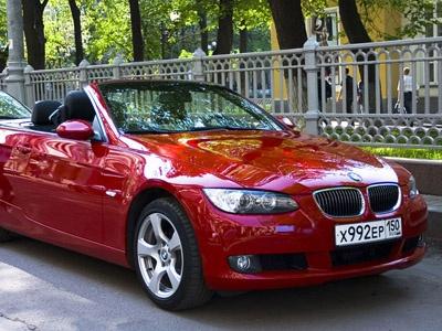 BMW 3 Cabrio. Фото Евгении Барановской с сайта autonews.ru