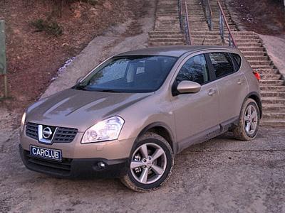 Nissan Qashqai. Фото Леонида Павлова с сайта carclub.ru