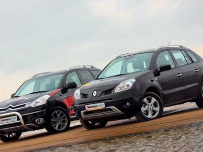 Renault Koleos и Citroen C-Crosser. Фото Игоря Кузнецова, 5 колесо.
